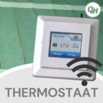 quickheat digitale wifi klokthermostaat bediening elektrische infrarood vloerverwarming