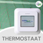 Quickheat-Floor digitale klokthermostaat bediening elektrische infrarood vloerverwarming