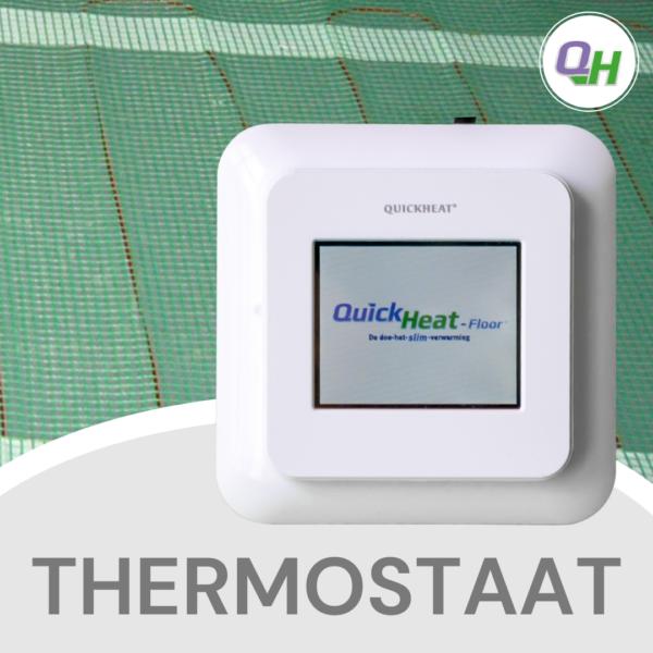 Quickheat-Floor digitale klokthermostaat bediening elektrische infrarood vloerverwarming