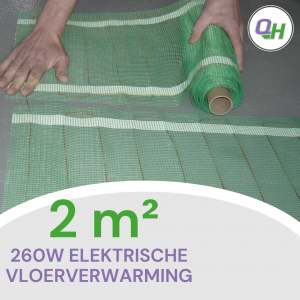 Elektrische vloerverwarming quickheat-floor basic