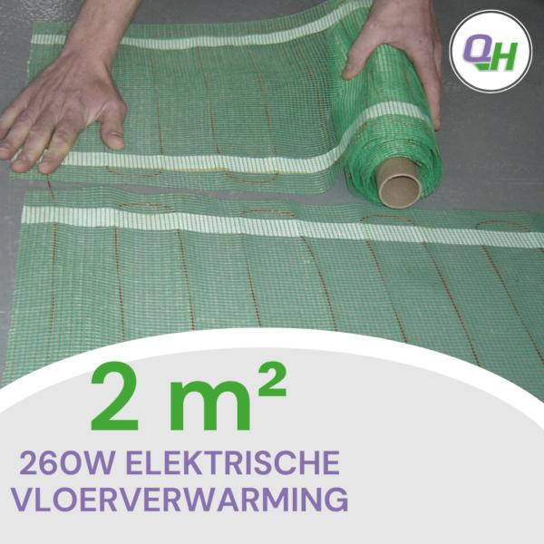 Elektrische vloerverwarming quickheat-floor basic