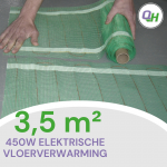 quickheat-floor elektrische vloerverwarming dhz pakket basic 450