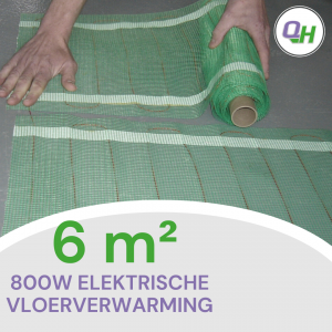 elektrische vloerverwarming quickheat-floor