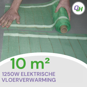 quickheat-floor elektrische vloerverwarming
