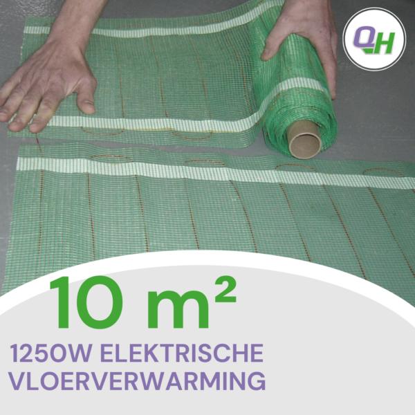 quickheat-floor elektrische vloerverwarming