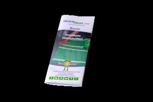 Quickheat-Floor Basic installatievoorschriften