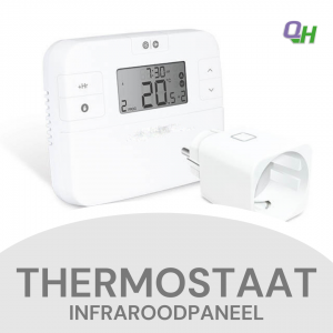 Quickheat-Floor plug in set voor infraroodpaneel