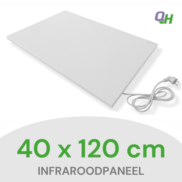 Quickheat-Floor infraroodpaneel voor aan plafond 40 x 120 cm